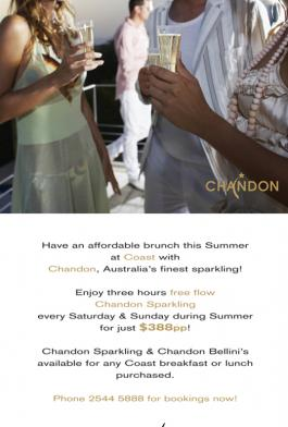 Chandon Brunch Promotion